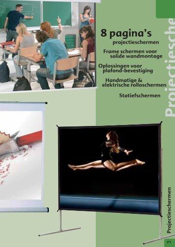Projectieschermen - Conen GmbH & Co. KG