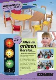 Bunte Wellentische - Conen GmbH & Co. KG