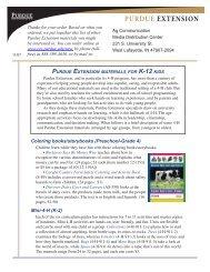 Purdue Extension - Purdue University