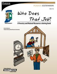 Who Does That Job?: A Forestry and Natural Resources coloring book