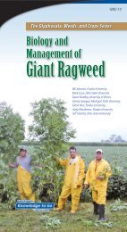 Biology and Management of Giant Ragweed - Purdue Extension ...