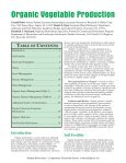 Organic Vegetable Production - Purdue Extension - Purdue University - Page 3