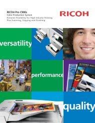 RICOH Pro C900s