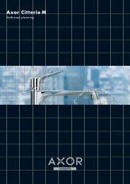 Axor Citterio M bathroom planning - Hansgrohe