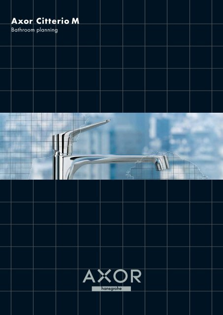 Axor Citterio M bathroom planning - Hansgrohe