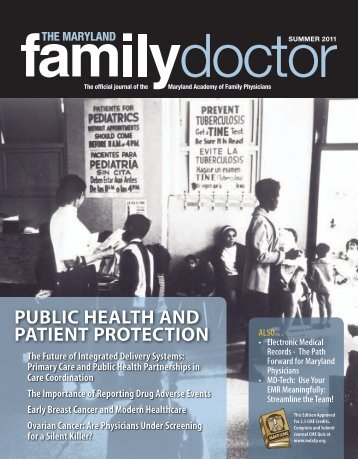 Summer 2011 - Maryland Academy of Family Physicians
