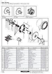 8.20 Axor Terrano Thermostat / Miscelatore ... - Hansgrohe