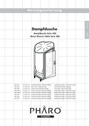 Dampfdusche - Hansgrohe