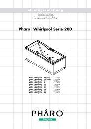 Pharo® Whirlpool Serie 200 - Hansgrohe