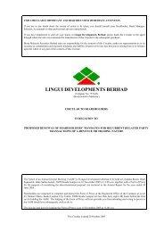 Circular - Announcements - Bursa Malaysia
