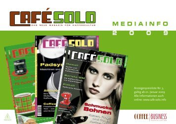 Coffee business - Cafe Solo