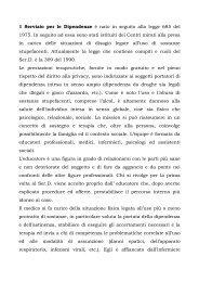 presentazione SER.T. a cura di SER.T Cittadella - DPSS