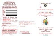 Programma e Scheda Iscrizione - DPSS - Università degli Studi di ...