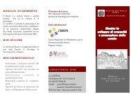 Master in sviluppo di comunità e promozione della salute CRRPS
