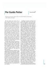 Per Guido Petter - DPSS