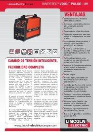 Invertec® V205-TP - Lincoln Electric