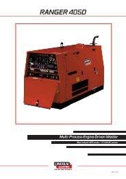 Ranger 405D pdf - Welding Supplies Ltd