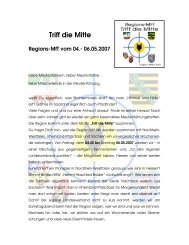 Triff die Mitte - BdP Landesverband Hessen