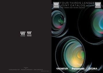 Olympus Lens Catalog 2011