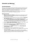 Sicherheit und Wartung - medion - Page 3