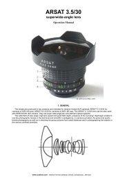 Arax Fisheye (PDF)(araxfoto.com)