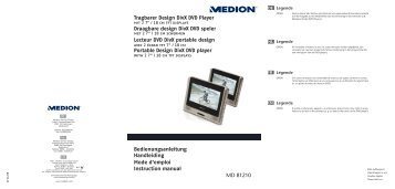 81210 Portable DVD Player BE Cover.FH11 - medion