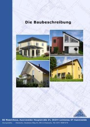 Die Baubeschreibung der KSW Baupartner GmbH - BS Massivhaus