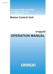 I55E-EN-01 CJ1W-MCH72 Motion Control Unit
