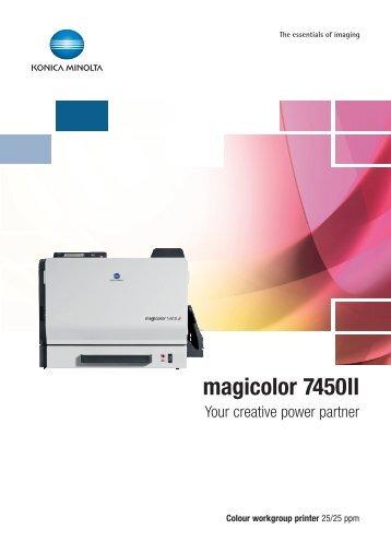 Konica Minolta 7450 ii service manual