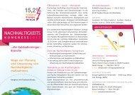Kongress-Programm-Flyer (PDF) - Initiative: minus 15,2%
