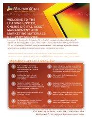Mediabox-4.0 IT Overview:
