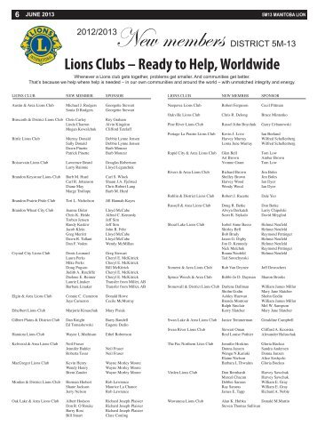 Lions Clubs – Ready to Help, Worldwide - E-district.org