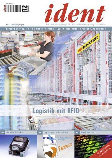 Logistik mit RFID