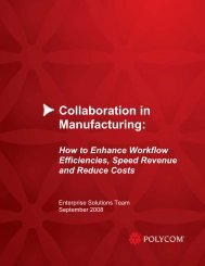 Collaboration in Manufacturing: