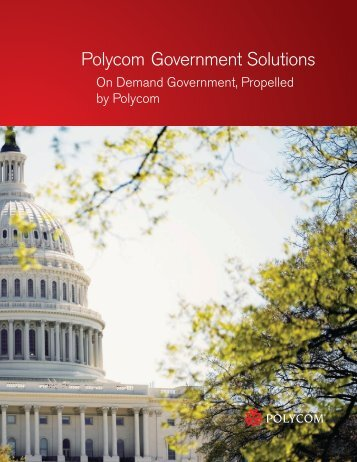 Polycom Government Solutions Brochure - Virtual Events India