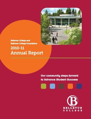 Annual Report 2010-2011 - Bellevue College