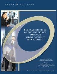 Leveraging Video in the Enterprise - Polycom-Conferencing UK