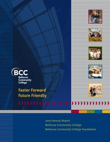Faster Forward Future Friendly - Bellevue College