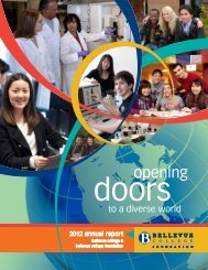 Annual Report 2012 - Bellevue College