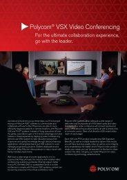 Polycom® VSX Video Conferencing