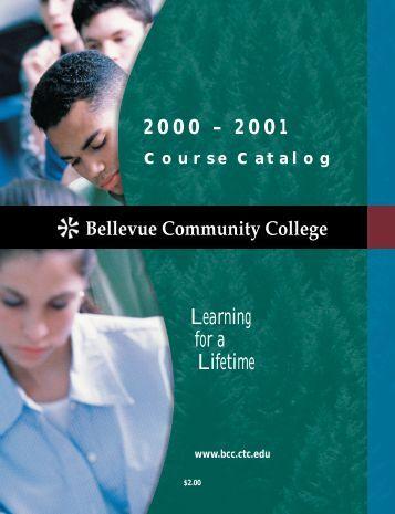 2000-2001 - Bellevue College