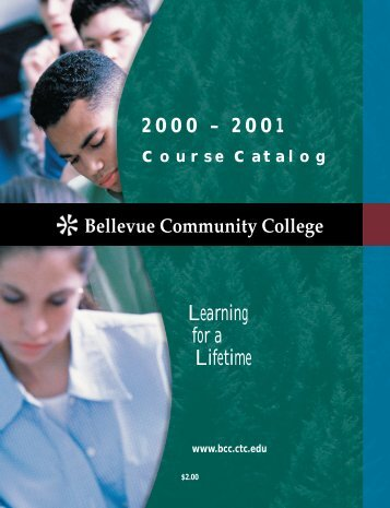 2000-2001 - Bellevue College