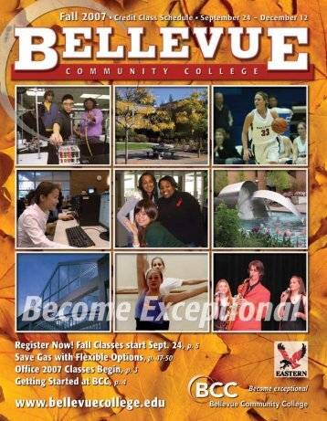 Fall 2007 - Bellevue College