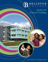 2009-2010 Course Catalog - Bellevue College