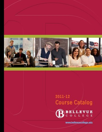 Course Catalog - Bellevue College