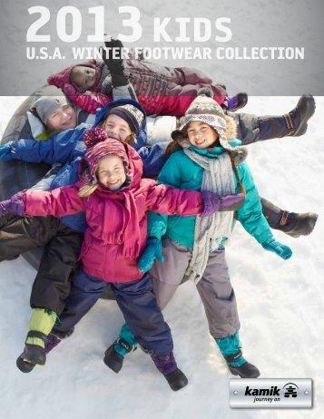 U.s.A. winter footweAr collection - Kamik