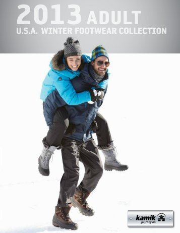 u.S.a. winter footwear collection - Kamik