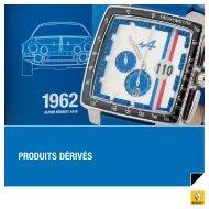 PRODUITS DéRIVéS - L'Atelier Renault