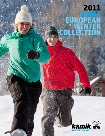 2011 ADULT EUROPEAN WINTER COLLECTION - Kamik