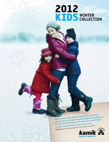 KIDSWINTER COLLECTION - Kamik